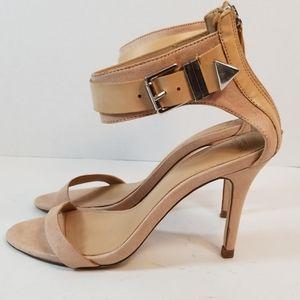 Zara Trafaluc. SS'13 Ankle Strap Sandal Heels Sz 7